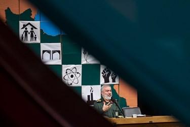 سخنرانی سردار علی فدوی جانشین فرمانده کل سپاه در  آیین بزرگداشت روز دانشجو در دانشگاه تهران