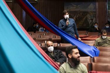 سوال یکی از دانشجویان از سردار علی فدوی در آیین بزرگداشت روز دانشجو در دانشگاه تهران