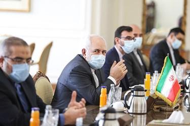 محمد جواد ظریف  وزیر امور خارجه جمهوری اسلامی ایران