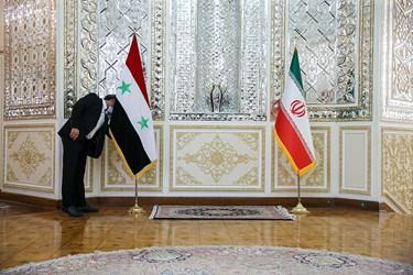 آماده سازی محل  دیدار وزرای خارجه ایران و سوریه