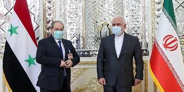 تأکید ظریف بر حمایت همه جانبه ایران از روند صلح آستانه