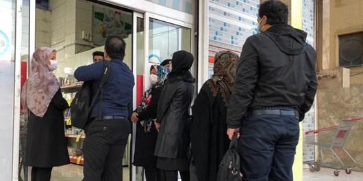 سردرگمی ادامهدار مردم شیراز در صفهای انتظار دریافت روغن