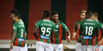 لیگ فوتبال پرتغال| پیروزی ماریتیمو با اولین گل علیپور/عابدزاده کلین شیت کرد