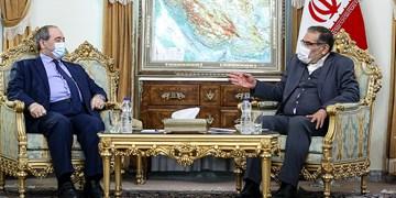 دیدار وزیرخارجه سوریه با دبیر شورای عالی امنیت ملی