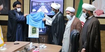 پوستر دانشنامه روحانیت بوشهر اثر آیت الله صفایی رونمایی شد