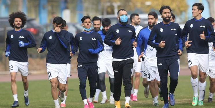 گزارش تمرین استقلال   غیبت دیاباته و تمرین اختصاصی غفوری / کرکری بازیکنان در فوتبال درون تیمی + تصاویر