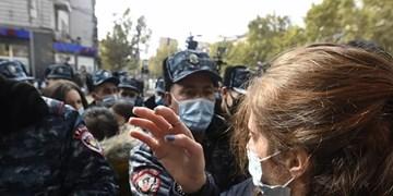 معترضان ارمنی برای برکناری «نیکول پاشینیان» از امروز تظاهرات برپا میکنند