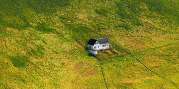 تنهاترین خانه روی زمین/ امنترین مکان در برابر کرونا  اینجاست + تصاویر
