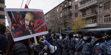 اعتراضات در ارمنستان| معترضان خواستار کناره گیری پاشینیان شدند