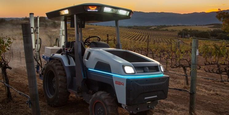 تولید هوشمندترین تراکتور خودران جهان