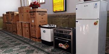 ۴۵ سری جهیزیه در شهرستان بروجن توزیع شد
