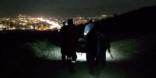 نجات کوهنورد ٣۵ ساله در ارتفاعات دراک