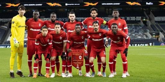هفته سی ام لیگ بلژیک| پیروزی آنتورپ در غیاب بیرانوند