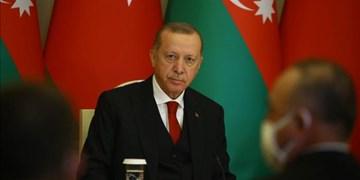 اردوغان: پوتین از ایده باکو برای تأمین امنیت منطقه حمایت میکند
