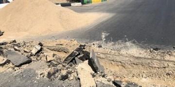 پیگیری فارس از وضعیت نامناسب آسفالت فلکه گاز/ تاخیر در صدور مجوز، دلیل حرکت لاکپشتی پروژه