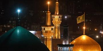 فیلم| حرم مطهر رضوی در شور شوق میلاد امیرالمومنین(ع)