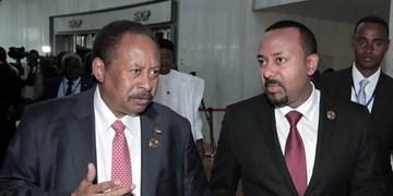 نخستوزیر دولت انتقالی سودان به اتیوپی رفت