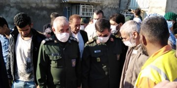 افتتاح ۱۱ پروژه محرومیت زدایی نیروی دریایی سپاه در بشاگرد