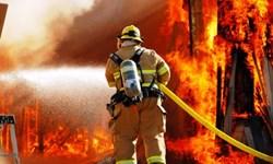 3 باب مغازه در ابهر در آتش سوخت