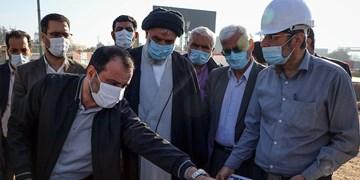 بازديد نماينده ولی فقيه در خوزستان     از پروژه های عمرانی شهرداری اهواز