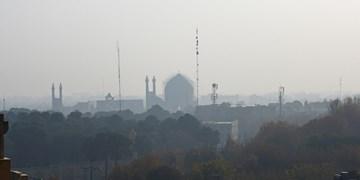 اصفهان در محاصره آلودگی هوا