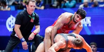 مسابقات گزینشی المپیک در آلماتی قزاقستان/ساروی سهمیه المپیک گرفت