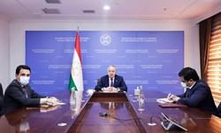 دیدار وزیر خارجه تاجیکستان با دبیرکل سازمان جهانی هواشناسی