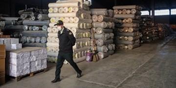 توقیف ۵ میلیاردریالی پارچه قاچاق در بازار تهران