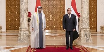 دیدار ولیعهد ابوظبی با رئیسجمهور مصر