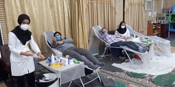 ایثار خون با استقرار پایگاه سیار انتقال خون در اسلامشهر