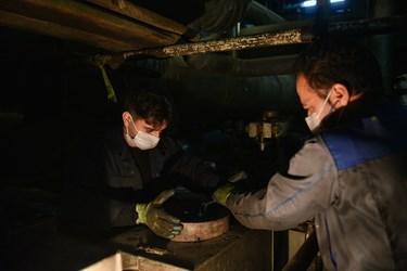 مهندسین مکانیک هرساله برای تعمیر و بازسازی در شرایط های دشوار دست از تلاش برنمیدارند