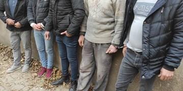 دستگیری 5 عامل حفاری غیرمجاز در منطقه منتظری تبریز