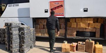 کشف ۹۳۶ میلیارد ریال انواع کالای قاچاق در استان سمنان