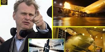 «تِنِت» دیوانه وارترین فیلم «نولان»/ انفجار  بوئینگ 747 به خاطر یک فیلم!+عکس