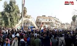 هزاران نفر در «الحسکه» سوریه علیه اشغالگری و جرایم ترکیه تجمع کردند