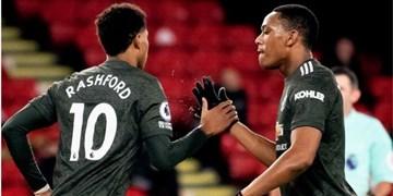 هفته سیزدهم لیگ برتر انگلیس| منچستریونایتد هفتمین برد فصل را کسب کرد