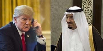 ترامپ در تماس با سلمان، درباره پایان بحران قطر ابراز امیدواری کرد