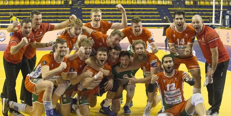 لیگ والیبال بلژیک| پیروزی گرینیارد در مرحله اول پلیآف بدون حضور ایرانیها