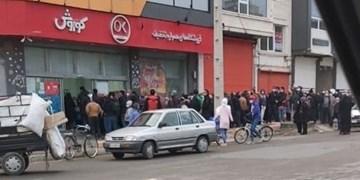 مشکل کمبود روغن در فیروزکوه هجوم مردم برای خرید است