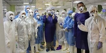 «قرنطینه» پرستاران بخش کرونا را غافلگیر کرد+فیلم