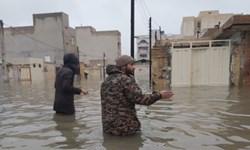 فارس من|مردم از کمکهای بسیج و سپاه در زمان آبگرفتگی تقدیر کردند