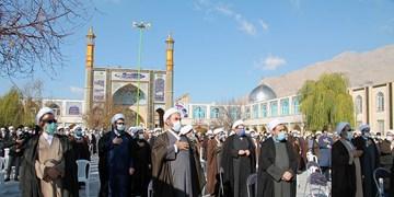 تجمع اعتراضی به سخنان «شیخ محمود امجد»