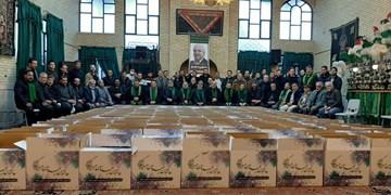 کمک مومنانه هیئات مذهبی مشهد به مناسبت ولادت حضرت زینب(س)