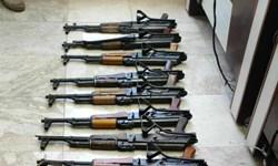 کشف و ضبط ۱۵ قبضه اسلحه جنگی در پاوه