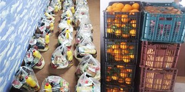 توزیع ۴۵۰۰ سبد کالا میان نیازمندان استان اردبیل
