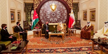 شاه اردن با همتای بحرینی خود دیدار کرد