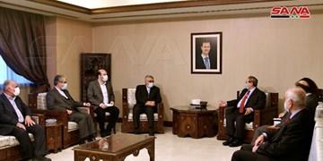 علاءالدین بروجردی با وزیر خارجه سوریه دیدار کرد