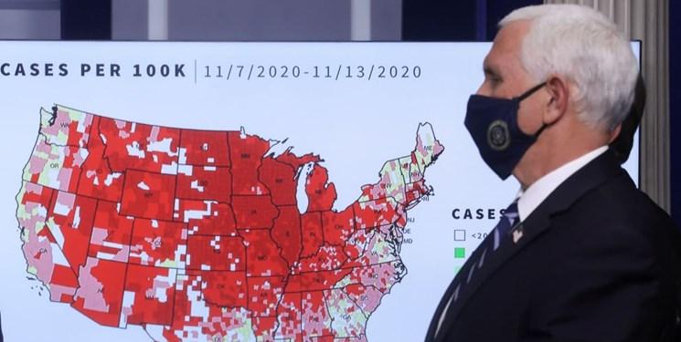 کرونا در آمریکا| ثبت ۱۶۰ هزار مبتلا و ۱۴۰۰ فوتی طی یک روز