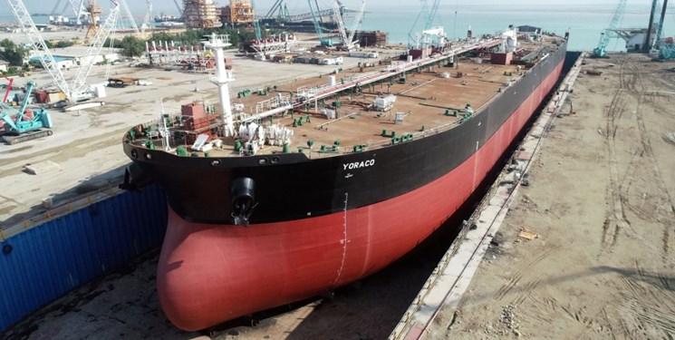 ساخت دومین نفتکش اقیانوسپیمای ایرانی/ 120 میلیون یورو ارزآوری و 2 هزار نفر اشتغالزایی + عکس
