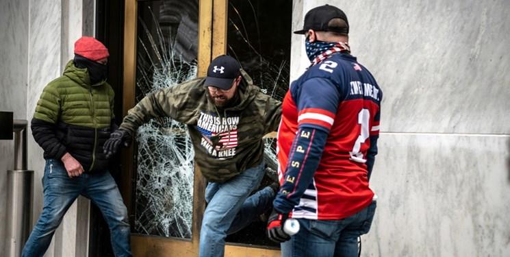 فیلم |حمله طرفداران ترامپ به ساختمان کنگره ایالتی «اورگن»